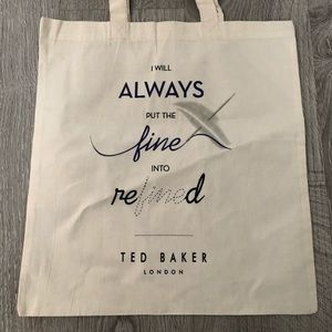 3 for $45 🌟 Ted Baker reusable tote - new